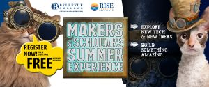 ISE Makers & Scholars Summer Experience - Links to page with information for all events