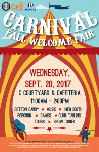 Fall Welcome Fair Poster
