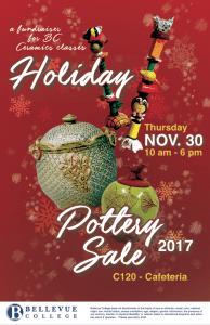 Holiday Pottery Sale