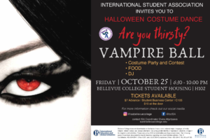 Vampire Ball Oct 25 at 6:30 PM