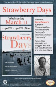 Strawberry Days, March 11 12:30 PM in N201