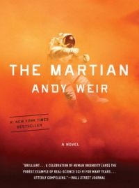 Cover image of Andy Weir's book The Martian