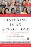 Listening is an Act of Love book cover