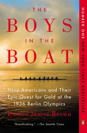 Cover of The Boys in the Boat book