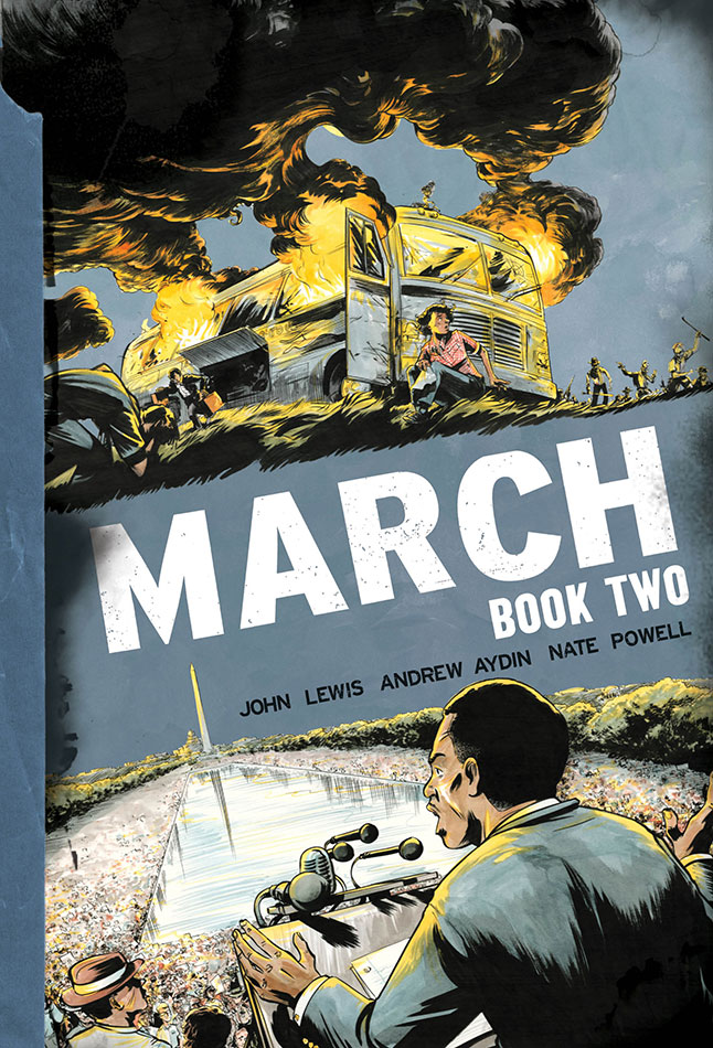 Book Cover- March Book Two by John Lewis