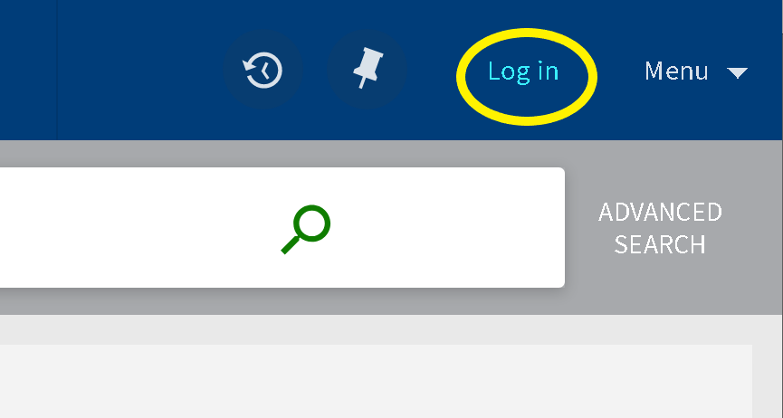 Image of Primo Login Option