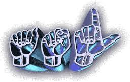 ASL spelled in Sign Language