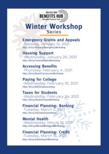 List of Winter Workshops