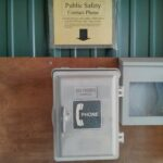 Picture of public safety call box