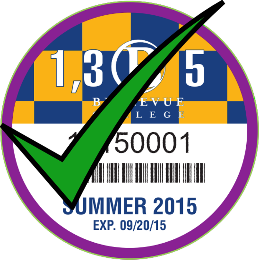 Valid Summer 2015 Discount Parking Permit