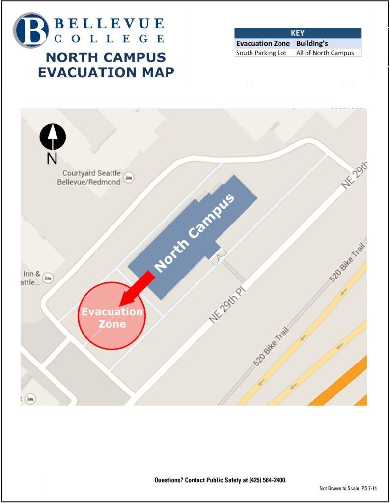Evacuation Map North Campus