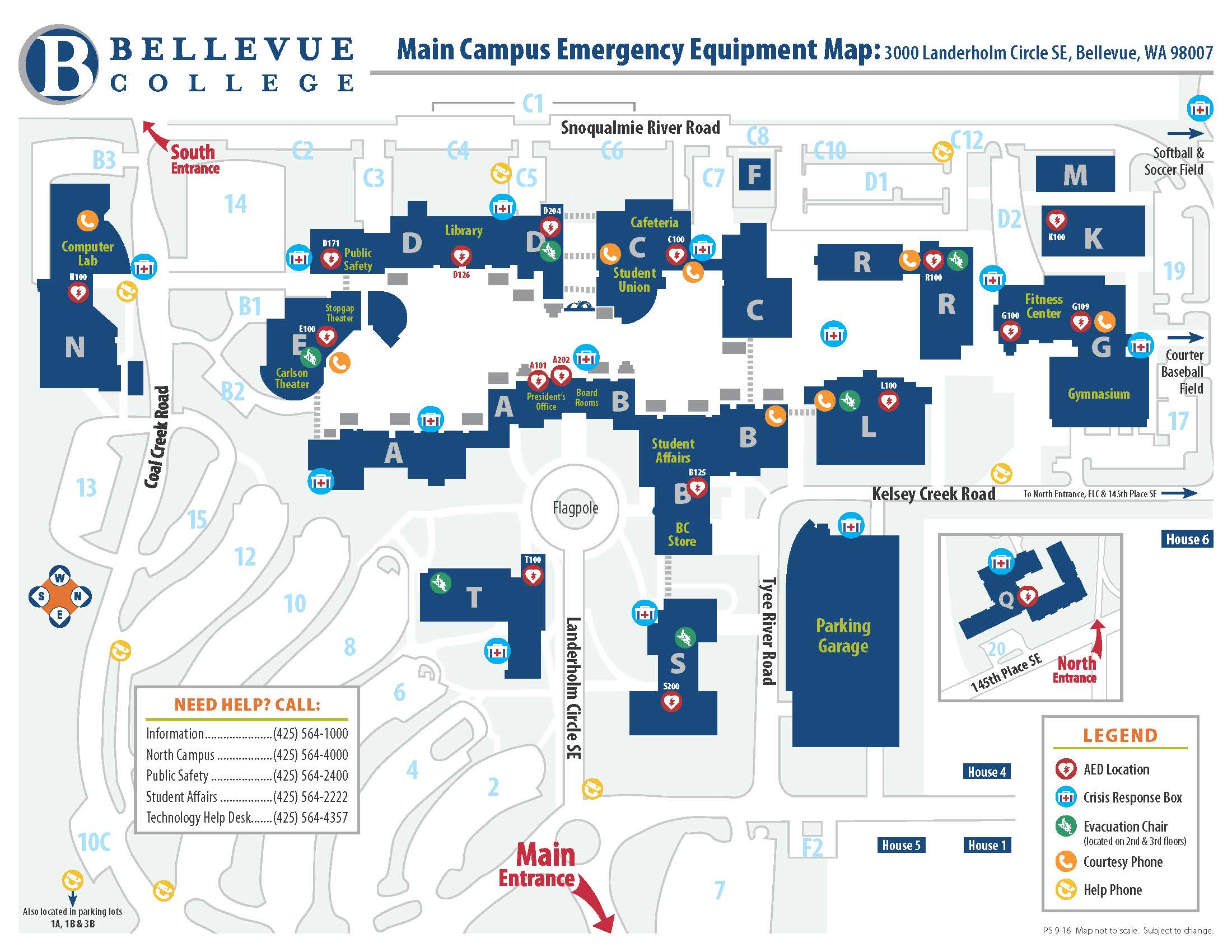 Bc North Campus Map Kidscare Store