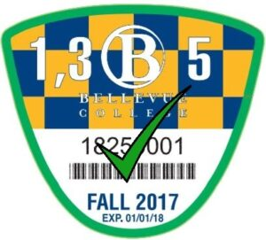 Student Fall Discount Parking Permit