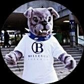 Bellevue College Bulldog Mascot