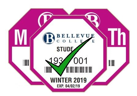 Picture of 3 Winter 2019 Parking Passes