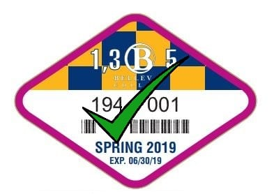 Spring 2019 Discount Permit