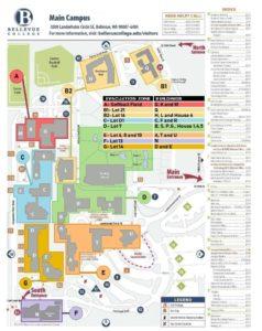 Main Campus Evacuation Map