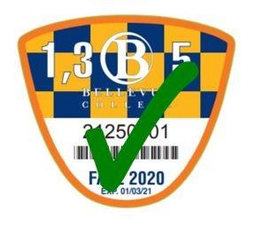 2020 Fall Discount Parking Pass