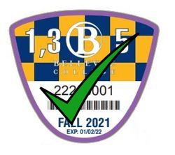 Fall 2021 Student Parking Permits Purple Discount