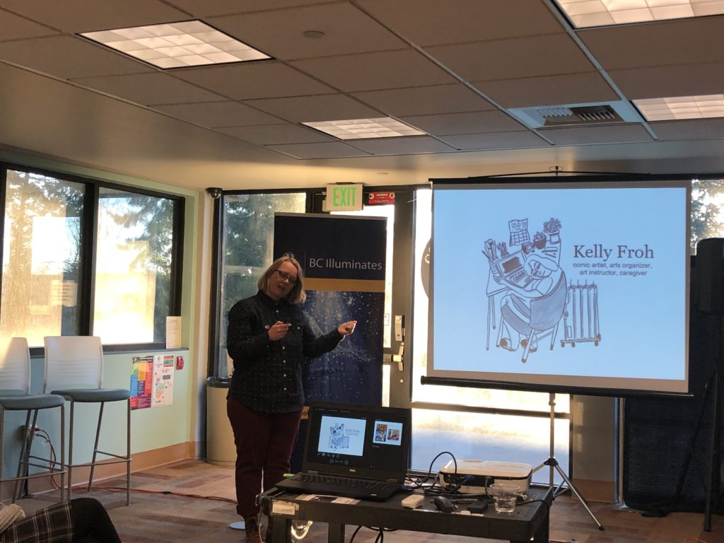 Kelly Froh: Comic Artists