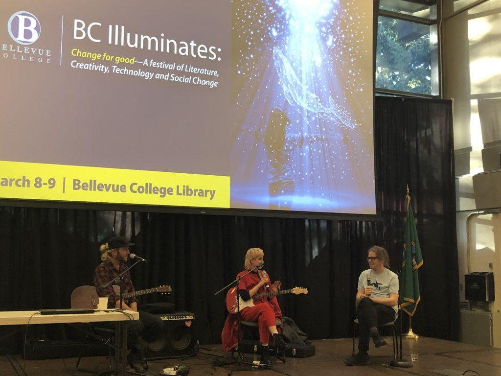 Musical Discussion at BC Illuminates