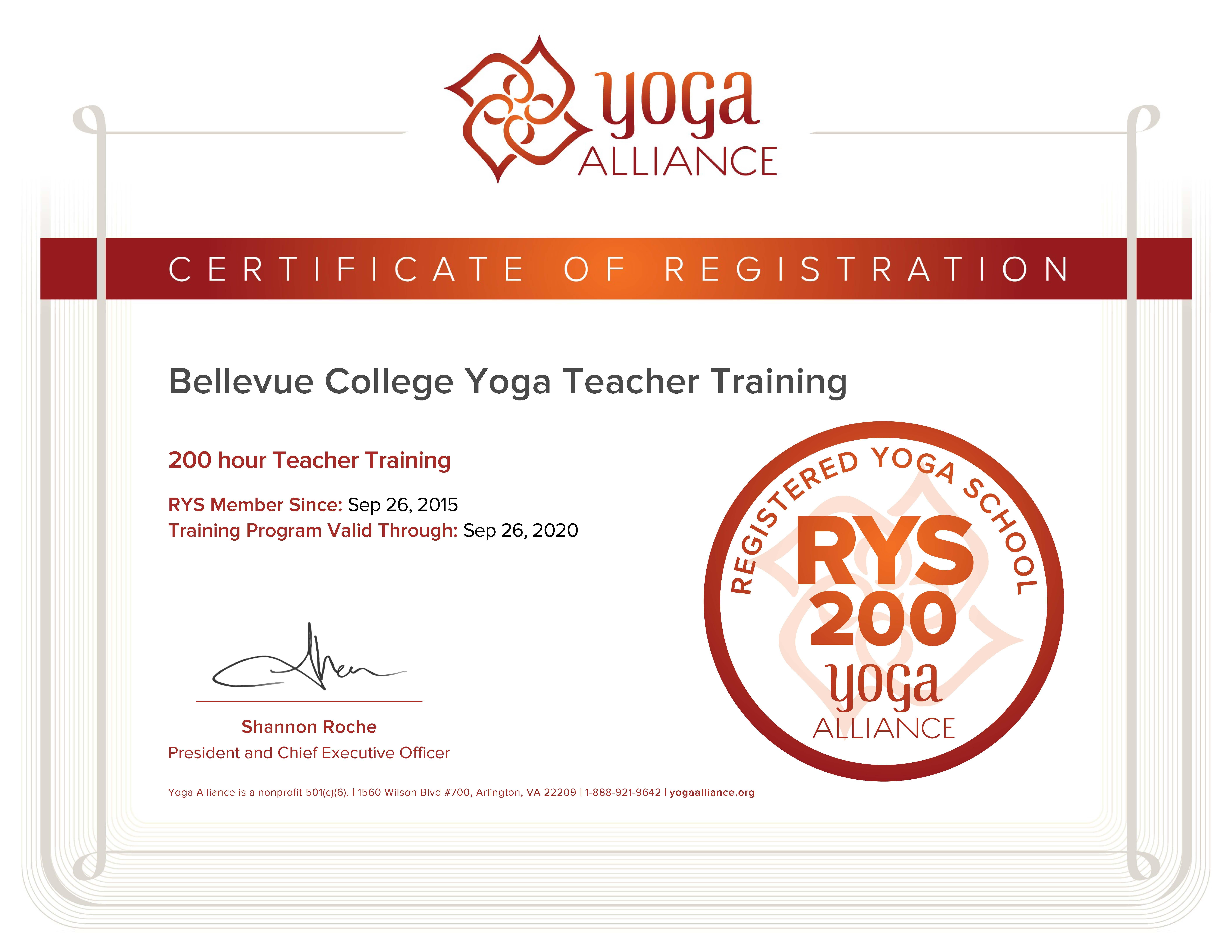 Yoga Instructor Certification Health Wellness
