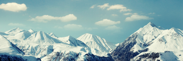 Pictures of snow mountains