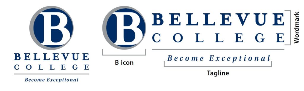 BC official logo, icon, wordmark and department signatures