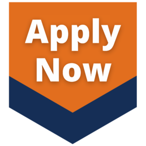 """Orange down button with """"Apply Now"""" in the center"""