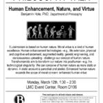 Benjamin Hole Philosophy Talk Flyer