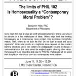 Philosophy Talk Flyer