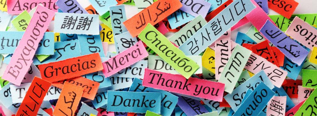 Multi-Language Thank-yous
