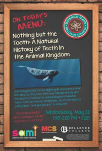 Science Cafe: Nothing but the Tooth: A Natural History of Teeth in the Animal Kingdom