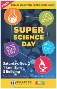 Super Science Day poster