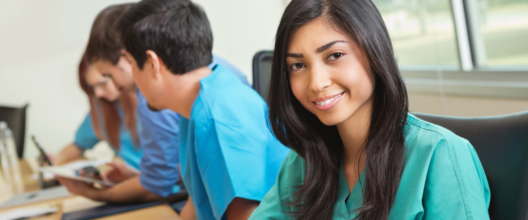Picture of BSN student in classroom.