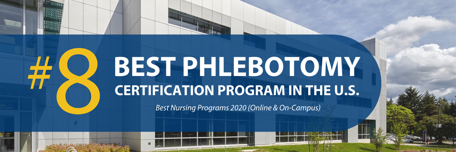 Ranked 8th best phlebotomy certification program in the U.S.