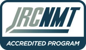 JRCNMT Accredited Program (logo)