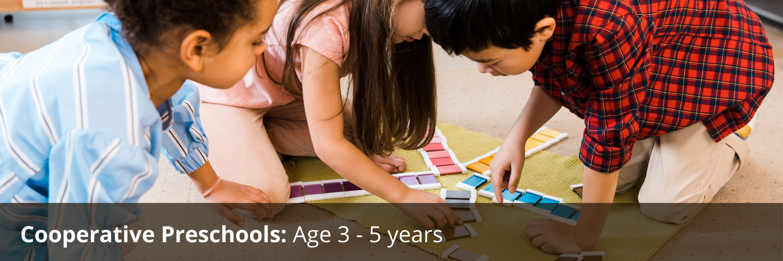 Cooperative Preschools Age 3-5 years