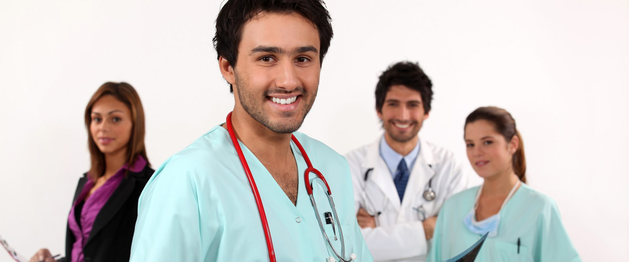 Group of Healthcare workers.