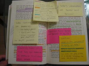 Book annotation