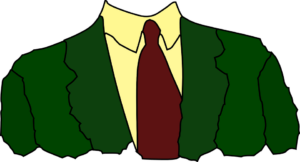 Shirt, tie, and jacket (headless)