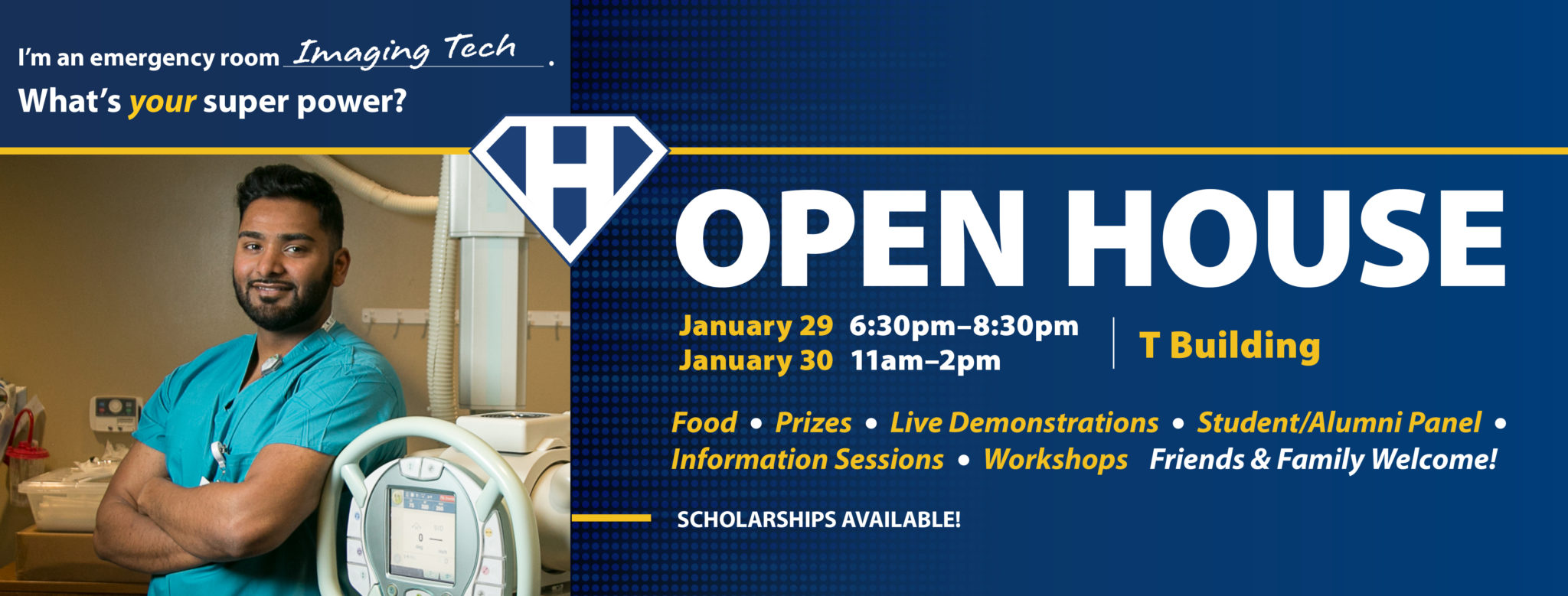 Open House Jan 29th and 30th