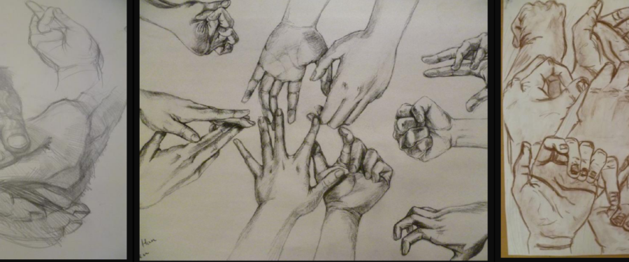Art hand drawings