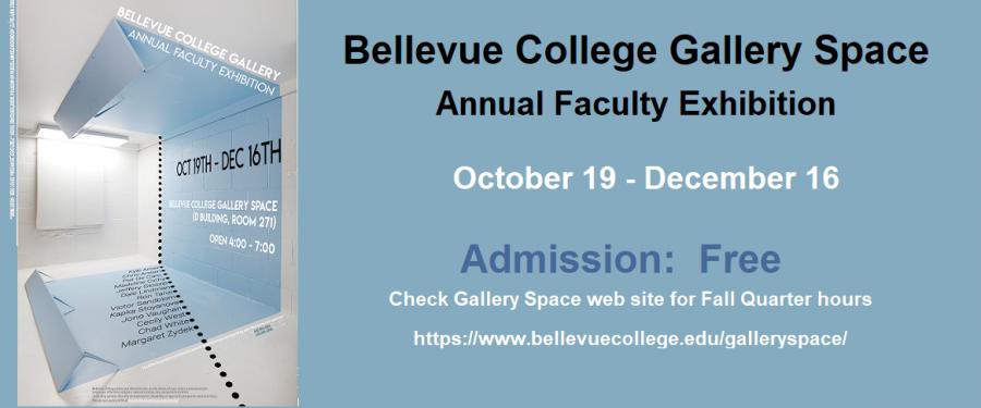 Faculty Art Show flyer