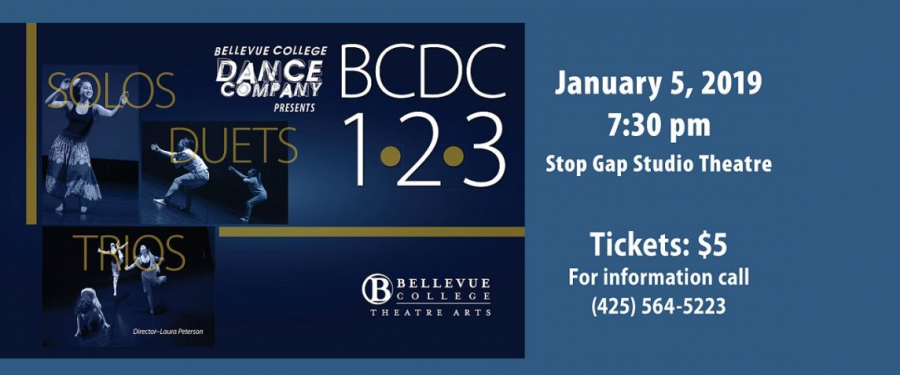 Bellevue College Dance Company flyer