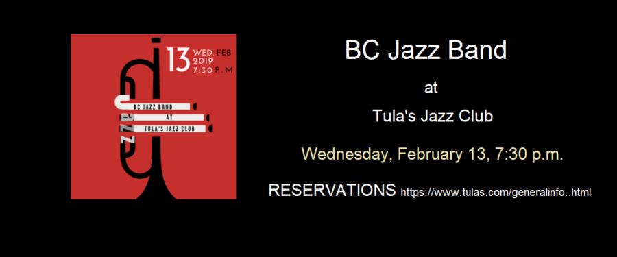 BC Jazz Band at Tulas