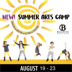 Summer Arts Camp flyer