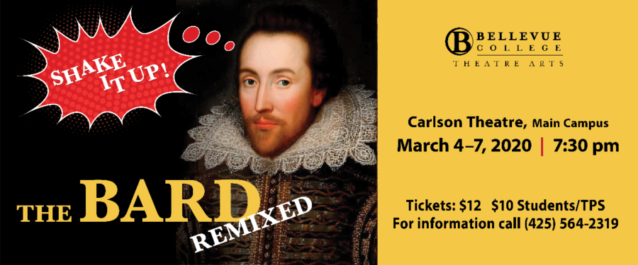 Shake It Up! The Bard Remixed flyer