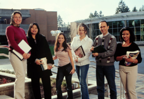 ESL students at Bellevue College