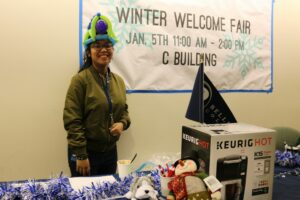 The Welcome Winter Fair was held on campus.